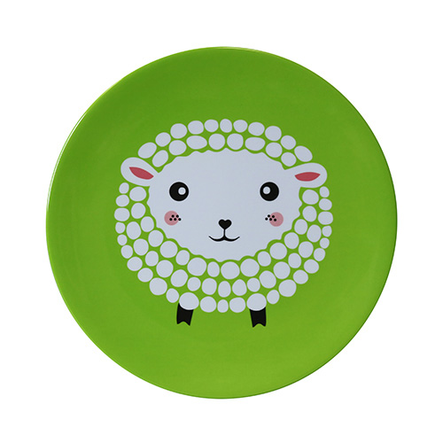 Melamine Plate Tots Sheep